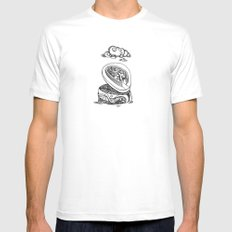 A different kind of jewellery box Mens Fitted Tee White SMALL