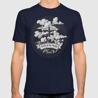 Lord Of The Rings Mordor… Mens Fitted Tee Navy SMALL