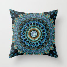 Spiral Eye Throw Pillow