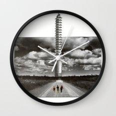 A Screw Wall Clock