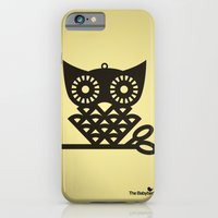 iPhone & iPod Case featuring Yellow Hoot by The Babybirds