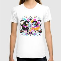 Hocus Pocus! Womens Fitted Tee White SMALL