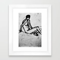 nude Framed Art Print