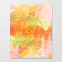 PASTEL IMAGININGS 3 Colo… Canvas Print