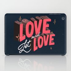 Love & Let Love iPad Case
