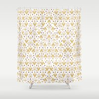 Geometric Diamond Repeat… Shower Curtain