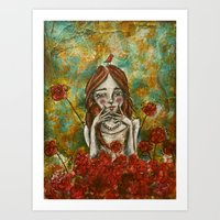 The smallest of souls, the largest of thoughts Art Print