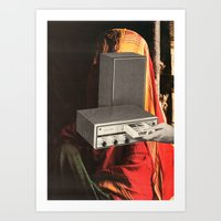 8-track Dreams Art Print
