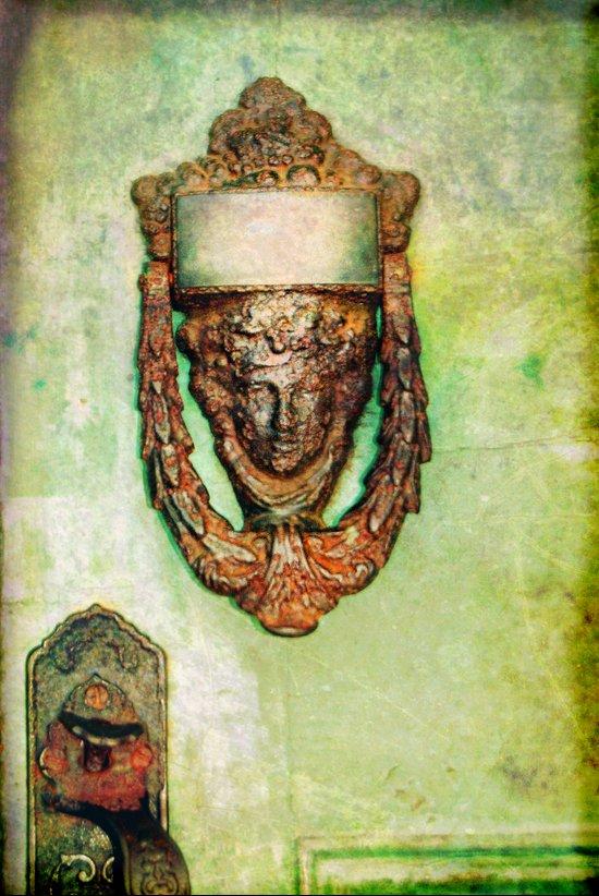 Brass Knocker Art Print