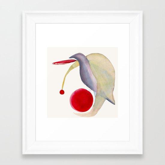 Turtle Dove Framed Art Print