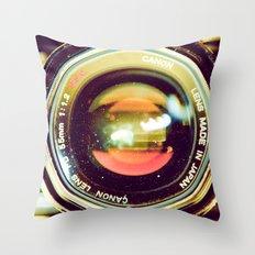 Nova Bloom Throw Pillow