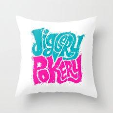 Jiggery-Pokery Throw Pillow