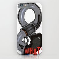 iPhone & iPod Case featuring And What? by KNIfe