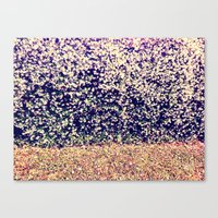 Canvas Print featuring Purple Flowers by Lindsey