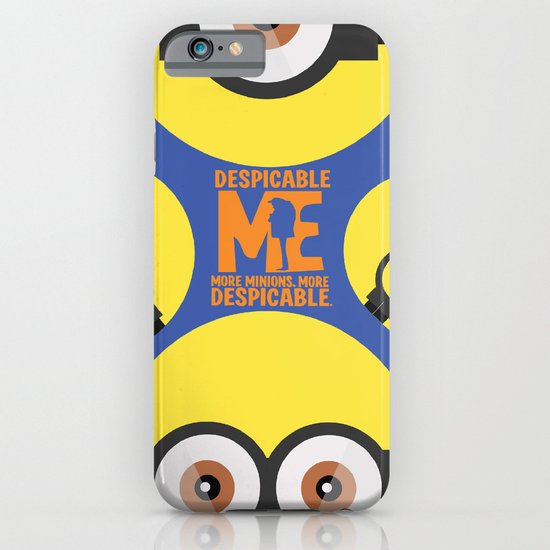 Despicable Me - Cartoon Altenrative Poster iPhone & iPod Case