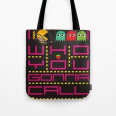 pacman ghostbuster Tote Bag