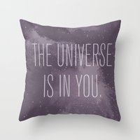 Forged in the Stars Throw Pillow