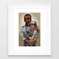 Everything's Okay Framed Art Print