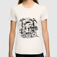 California Kidz Womens Fitted Tee Natural SMALL