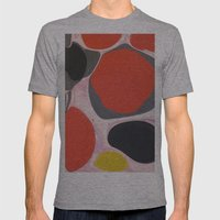 Five Mens Fitted Tee Athletic Grey SMALL