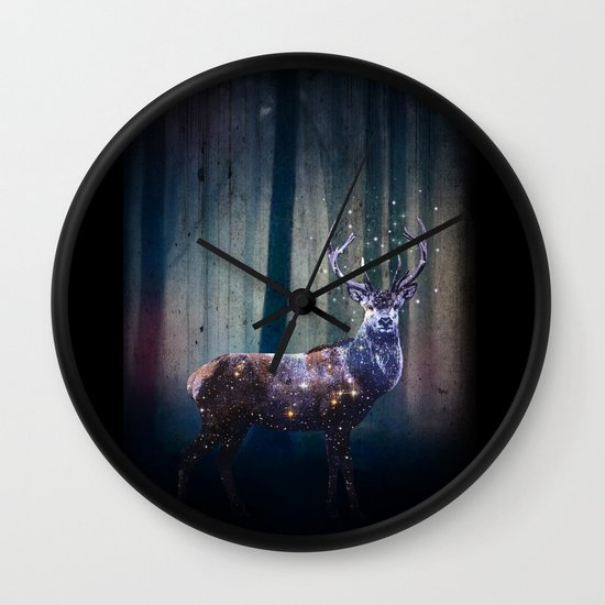 Deep In The Woods Wall Clock
