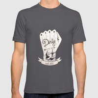 Dirty - Dirty Mens Fitted Tee Asphalt SMALL