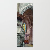 Cathédrale Canvas Print