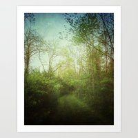 Follow Your Life Path Art Print