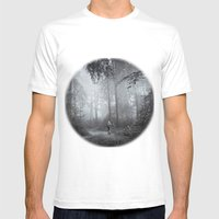 seeking silence Mens Fitted Tee White SMALL