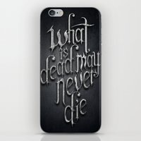 What Is Dead iPhone & iPod Skin