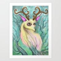 Wicked Snow Art Print