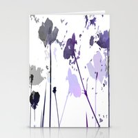 Field of Flowers Indigo Stationery Cards