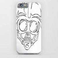 iPhone & iPod Case featuring Baby Vader by kyleray3000