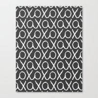 XOXO...LOVE Canvas Print