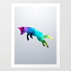 Glass Animal - Flying Fo… Art Print