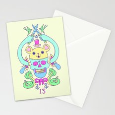 triskaidekaphilia Stationery Cards