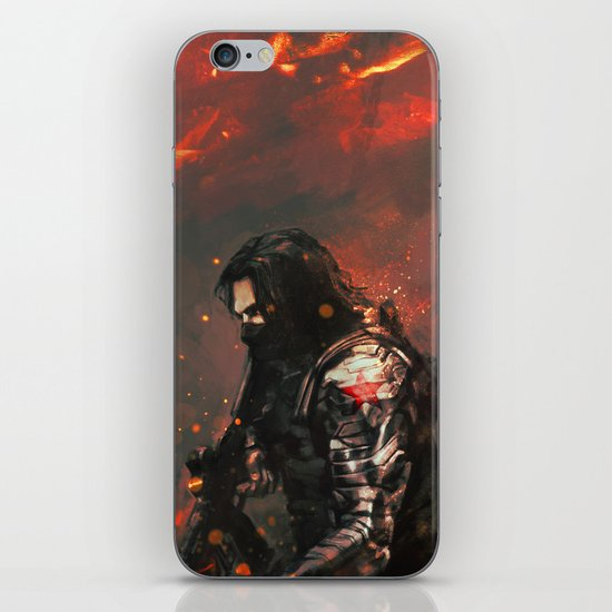 Blood in the Breeze iPhone & iPod Skin