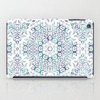 Harmony In Blue iPad Case