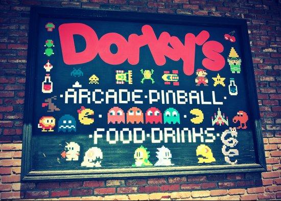 Dorkey's Arcade Canvas Print