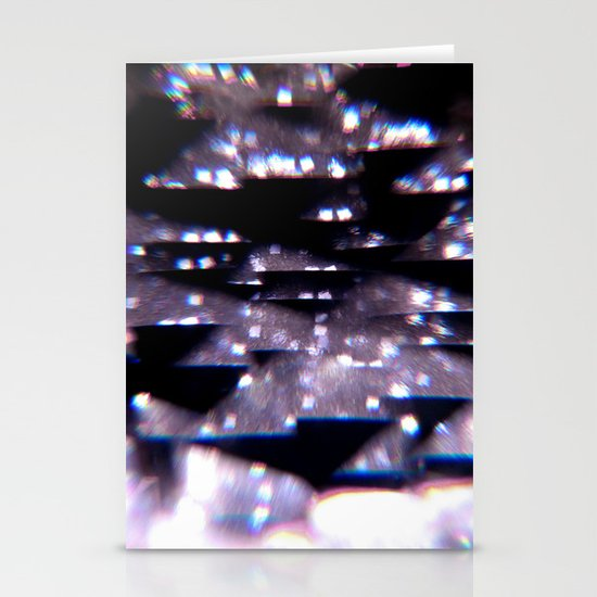 Diffraction Stationery Card