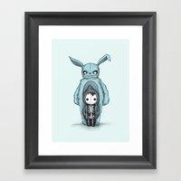Plushie Darko Framed Art Print