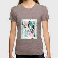 You Had Me At Aloha Womens Fitted Tee Tri-Coffee SMALL