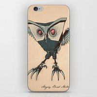 ANGRY BIRD METAL iPhone & iPod Skin