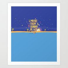 Music From A Sunny Place Art Print