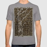Autumn Aspen Mens Fitted Tee Athletic Grey SMALL