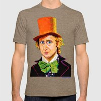 Wonka Mens Fitted Tee Tri-Coffee SMALL