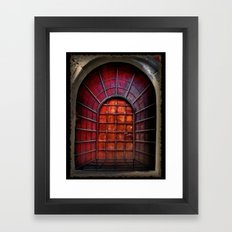 False perspective Framed Art Print