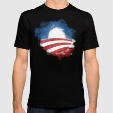 Artists for Obama Mens Fitted Tee Black SMALL