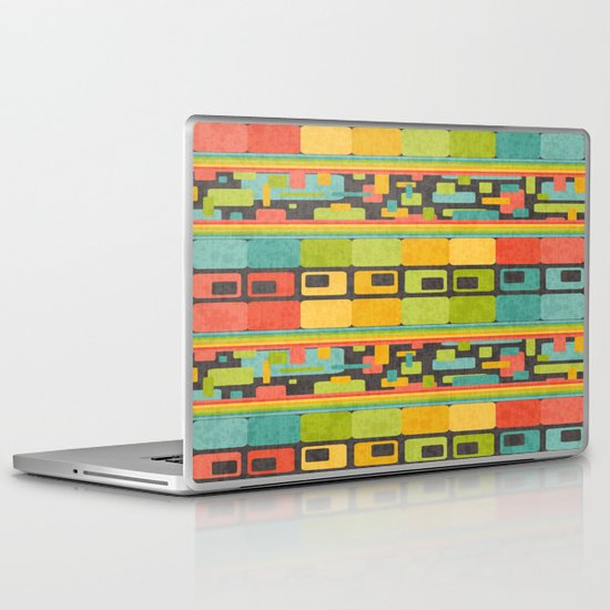 Retro Overload Laptop & iPad Skin