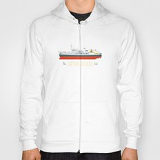 Captain Jacques' Boat Hoody